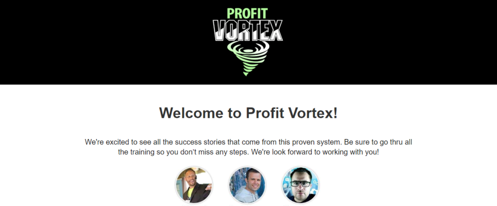 profit vortex review