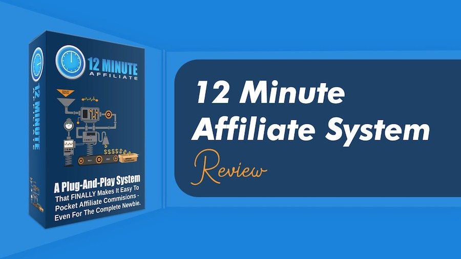 12 minute affiliate review cover