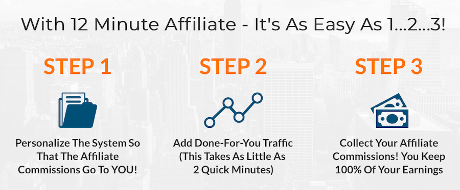 12 minute affiliate system process